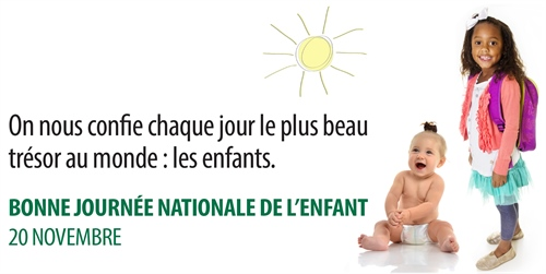 Journée nationale de l'enfant