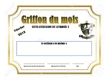 Griffons du mois / Griffons of the month